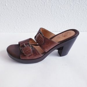 Nurture Shoes - Nurture buckles pumps mules